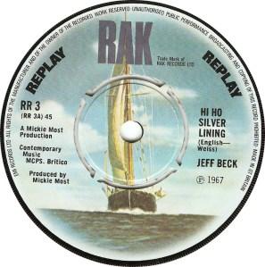Jeff Beck - Hi-Ho Silver Lining